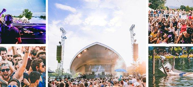 Sea You Festival, Dj, Crowd, Lial Licht, Menschen, Masse, Sonnenbrille, Hängematte, See, Konfetti,